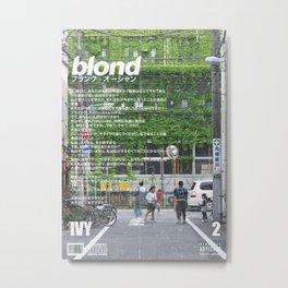 Frank Blond Vintage Ivy Metal Print