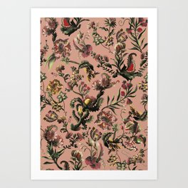 Exotic Brazilian Flowers Art Print