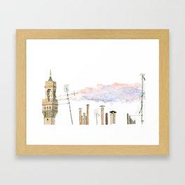 Italian Chimneys Framed Art Print
