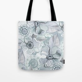 Lil' Garden Party - Storm Tote Bag
