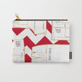 Seaside Stripes Slopers Carry-All Pouch
