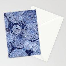 Blue Mandala Mix Stationery Cards