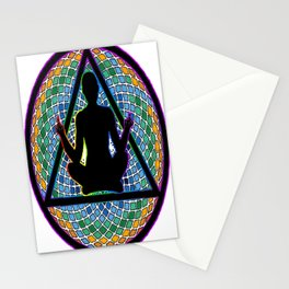 Meditate on this Stationery Cards