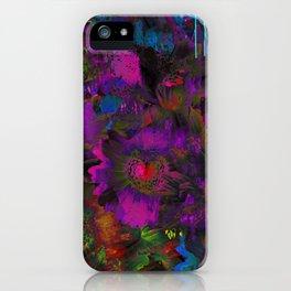 Lysergic Lujan iPhone Case