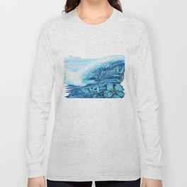 Blue Paradise Long Sleeve T-shirt