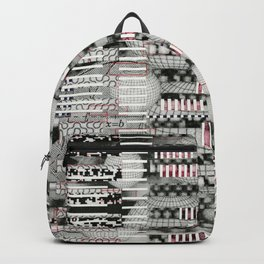 Vulnerability Commerce (P/D3 Glitch Collage Studies) Backpack