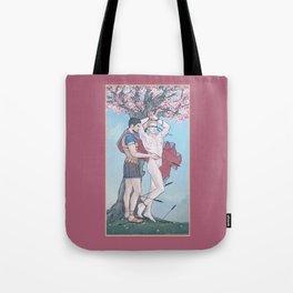 The Liberation of Saint Sebastian Tote Bag