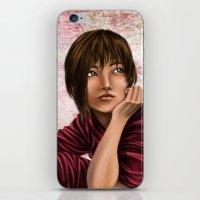 chihiro iPhone & iPod Skins featuring Chihiro from Spirited Away 2 by Kimberly Castello