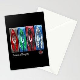 Darrell Merrill Nerd Artist Seasons of Dragons Stationery Cards