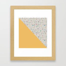 Pez Otomi yellow by Ana Kane Framed Art Print