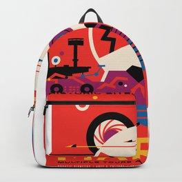 Mars - NASA Space Travel Poster Backpack