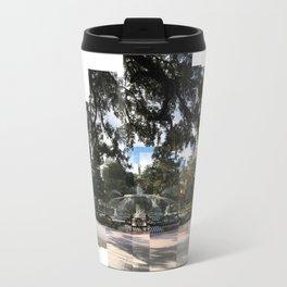 Crisp morning in Forsyth Park, full extents Travel Mug
