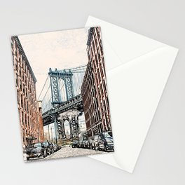 Dumbo New York City Stationery Cards