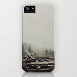 Logs iPhone Case