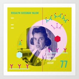 Beyond Curie: Rosalyn Sussman Yalow Art Print