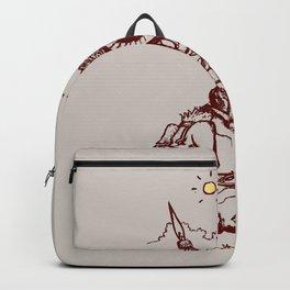 Nature Warriors: Battle Hedgehog Backpack