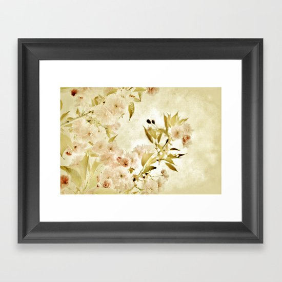 Yet - a dream... Framed Art Print