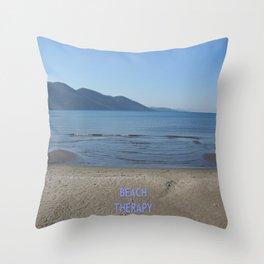 Beach Therapy Throw Pillow