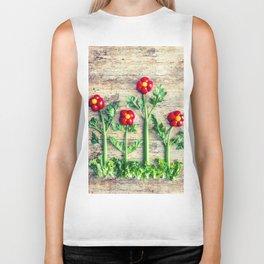 Pepper flowers (23) Biker Tank
