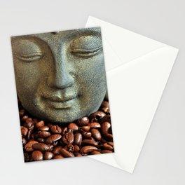 Coffee Buddha 3 Stationery Cards