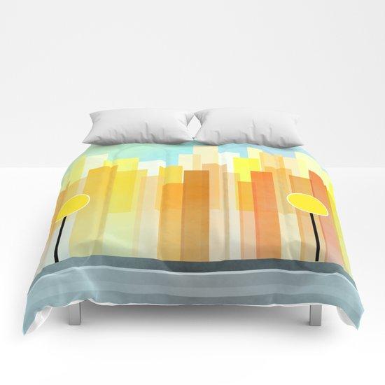 Metropolis Comforters