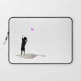 I Love Cats No. 8 by Kathy Morton Stanion Laptop Sleeve