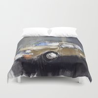 minion Duvet Covers featuring Minion by mystudio69