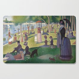 Georges Seurat - A Sunday Afternoon on the Island of La Grande Jatte Cutting Board