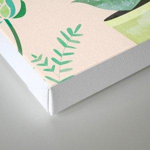 Cacti Pattern #society6 #decor #buyart Canvas Print