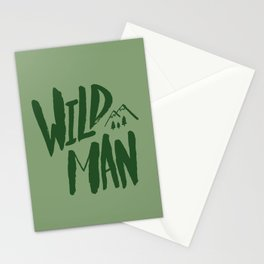 Wild Man x Green Stationery Cards
