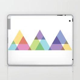Fig. 029 Rainbow Triangles Geometric Mountains Laptop & iPad Skin