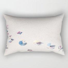 Beach Love 1  (part of a diptych) Art Print Rectangular Pillow