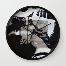 I also cry, and you don't even know that...!!! Wall Clock