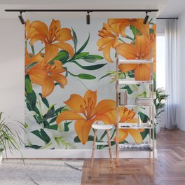 Glorious Lilies Wall Mural
