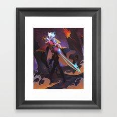 Ashwood Firebrand Framed Art Print