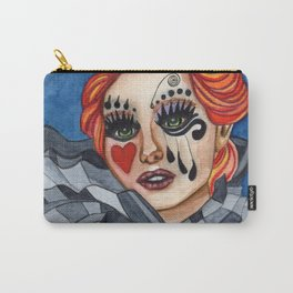 Harlequin - watercolor Carry-All Pouch