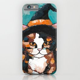 Little Calico Witch iPhone Case