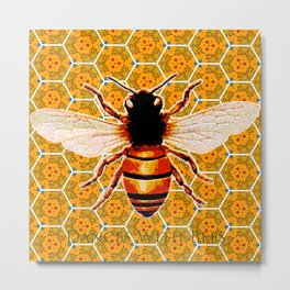 Dances With Bees Metal Print