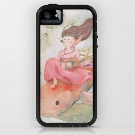 Koi Fish Japanese Goddess iPhone Case