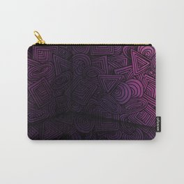 Patterns on the Wall Carry-All Pouch