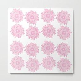 Pink Gerber Daisy Flower Metal Print