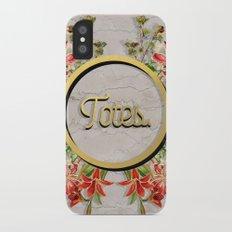 Totes Slim Case iPhone X