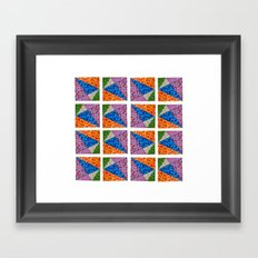 Sparkling Shape I Framed Art Print