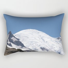Little Tahoma Mount Rainier Rectangular Pillow