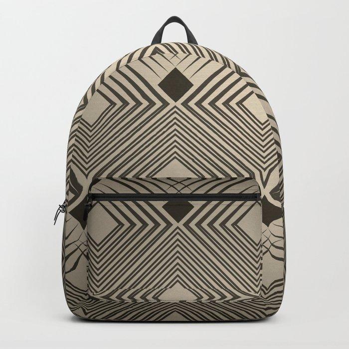 Art Deco. Magic. Backpack