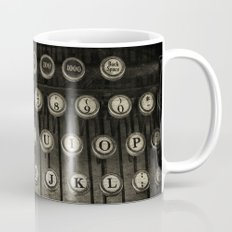 Typewriter Keys Mug
