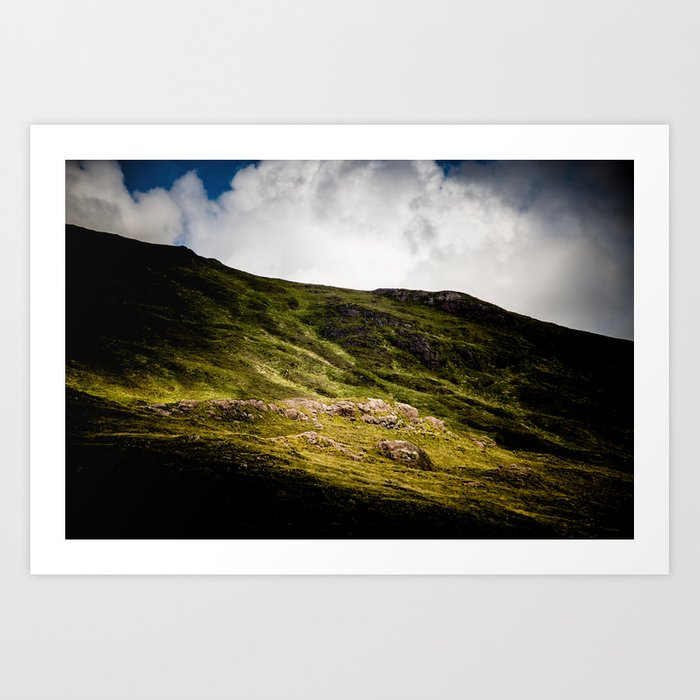 Ireland Mountain Art Print