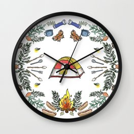 Camp Dutch Wall Clock