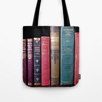 library Tote Bags featuring library by Liudvika's Lens
