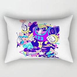Bad Boys, Bad Boys Rectangular Pillow